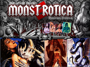 About 1'000 of highly detailed XXX art pictures inside MONSTROTICA! All drawn by professional illustrators and erotic artists. Their wild imagination