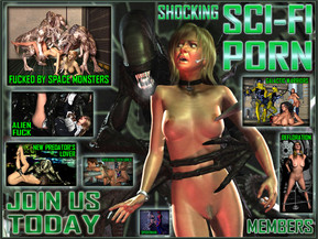 Sci-Fi Porn archives. Shocking 3D pictures and movies with aliens, robots, cyborgs and monsters!