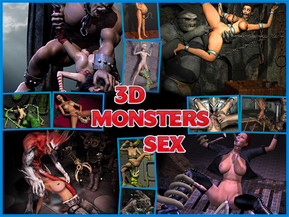 3D Monsters Sex - the huge collection of fascinating 3d porn, which shows the monsters fuck girls with their large members and tentacles.