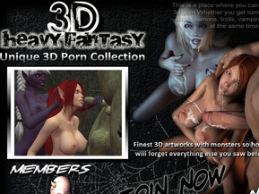 Finest 3D artworks with monsters so hot you will forget everything else you saw before!