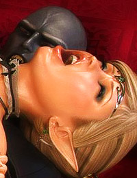 Truly enjoyable 3D porn scene with a couple of girls and their nasty fucker