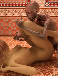 Kama Sutra sex with a mummified skeleton? This naughty babe never saw it coming!