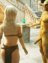 Her tight elven pussy is fucked very deep